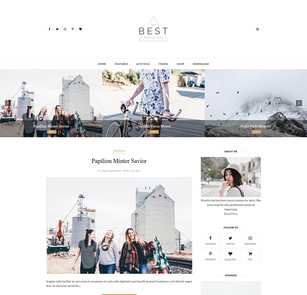 Best Blogger Template Professional Installation Premium ThemeXpose - Blogger photography templates professional