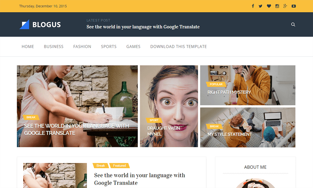 Blogus-responsive-blogger-template-free